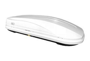 Автобокс Евродеталь Magnum 390 (1850x840x420) 390 литров, белый, глянцевый