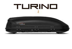 Автобокс Turino 1 (1770x810x460) 410 литров, двустороннее открывание, черный шагрень