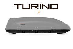 Автобокс Turino 1 (1770x810x460) 410 литров, двустороннее открывание, серый шагрень