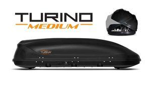 Автобокс Turino Medium (1910x790x460) 460 литров, двустороннее открывание, черный шагрень