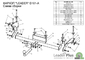 Фаркоп для Daewoo Nexia (1995 -) Лидер-Плюс D101-A