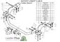 Фаркоп для Hyundai Starex (1998 - 2004) Лидер-Плюс H208-A