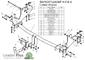 Фаркоп для Hyundai Starex (1998 - 2004) Лидер-Плюс H216-A