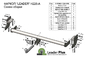 Фаркоп для Kia Sportage III (2016 -) Лидер-Плюс H226-A