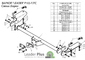 Фаркоп для Citroen Jumper 3 L4 (2006 -) Лидер-Плюс P105-F