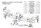 Фаркоп для Toyota Land Cruiser 200 (2007 -) Лидер-Плюс T110-FN
