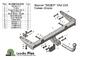 Фаркоп для ВАЗ Lada Kalina 2 Cross 21941 (2014 -) Лидер-Плюс VAZ-22A
