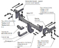 Фаркоп для Subaru Forester (2013 -) Трейлер 8501