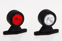 Фонарь контурный бело-красный Евросвет ГФ 3.2 LED1-20/21 (комплект)