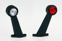 Фонарь контурный бело-красный Евросвет ГФ 3.5 LED1-20/21 (комплект)