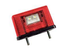 Фонарь подсветки номерного знака Евросвет ЕС-10 LED Красный