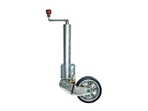 Опорное колесо автомат в сборе с фланцем D60 AL-KO Profi (500 кг)