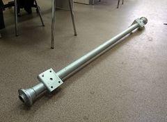 Ось для прицепа (750 кг) в сборе со ступицами (4x98) длина 1820 мм