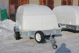 Прицеп для перевозки двух снегоходов ЛАВ-81013А