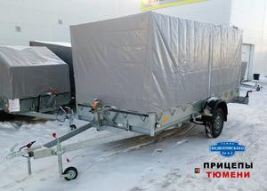 Прицеп Трейлер 829450 (4,1x2,0 / 16 / РЕС) для 2-х снегоходов