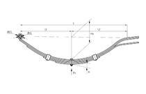 Рессора 5-ти листовая AL-KO 584565 (450 кг)