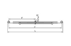 Рессора 6-ти листовая ЧМЗ 456506-2912012 (400 кг)