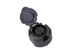 Розетка фаркопа 13-контактная пластиковая