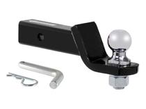 Шар-вставка для американского фаркопа под квадрат 50х50 мм (Черный) Лидер-Плюс SH21E(N)