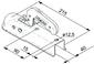 Замковое устройство #40 AL-KO AK 7/I (750/75 кг)