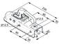 Замковое устройство #60 AL-KO AK 7/E (750/75 кг)